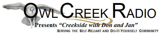 "Owl Creek Radio Presents ""Creekside with Don and Jan"""