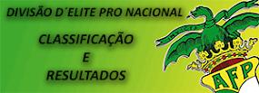 CLASSIFICAÇÃO - AF PORTO DIVISÃO DE ELITE - PRO-NACIONAL