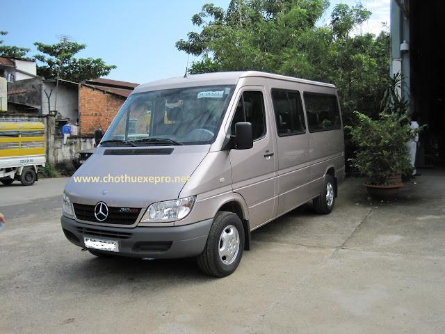 Cho thuê xe 16 chỗ tại Hà Nội