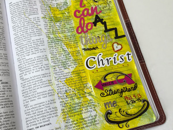 Journaling Bible | Philippians 4:13