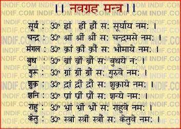 Navgrah mantra