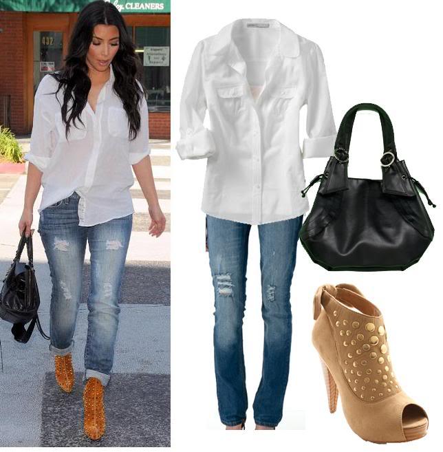 Celebrity Fashion Style Catalog Kim Kardashian Style