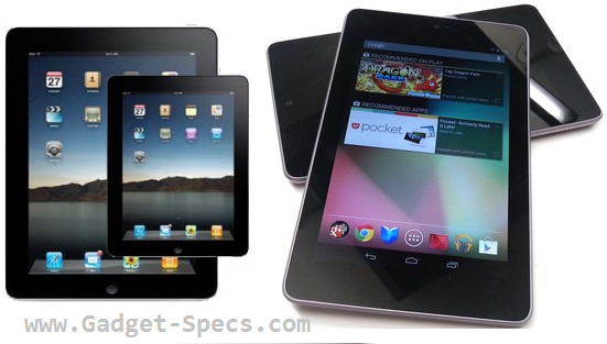 compare between ipad new apple vs nexus 7, which the best ipad 3 or