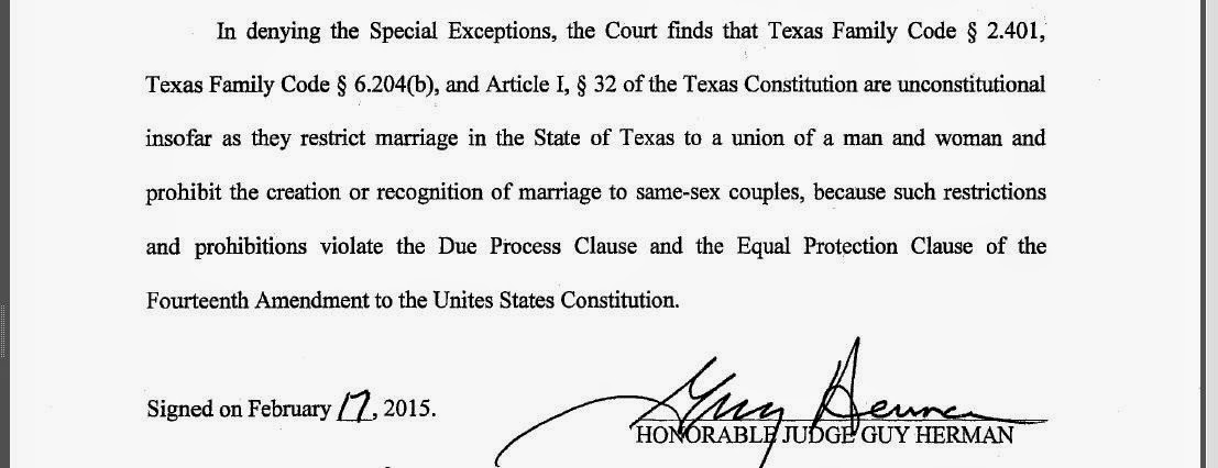 Tex.App.: Texas Attorney General drops challenge to same-sex ...