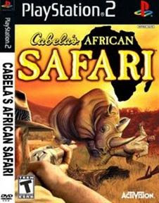 Super Compactado Cabelas African Safari PS2