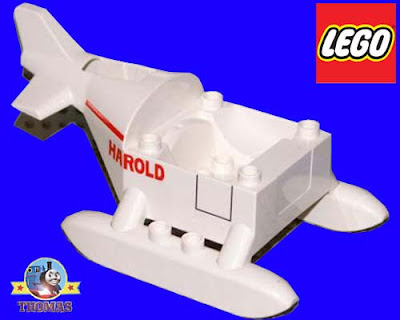 White brick block section 3300 Thomas tank Lego vehicle helicopter cab foundation pulley controller