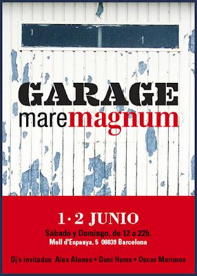 GARAGE MAREMAGNUM 1-2 JUNIO BARCELONA