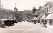 Main St. view - old Deadwood