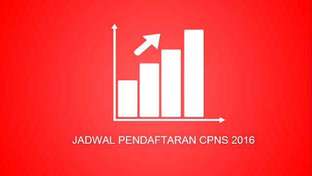 Jadwal Pendaftaran CPNS Tahun 2016