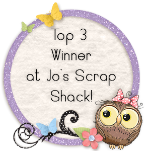 Top 3 Winner at Jo's Scrap Shack
