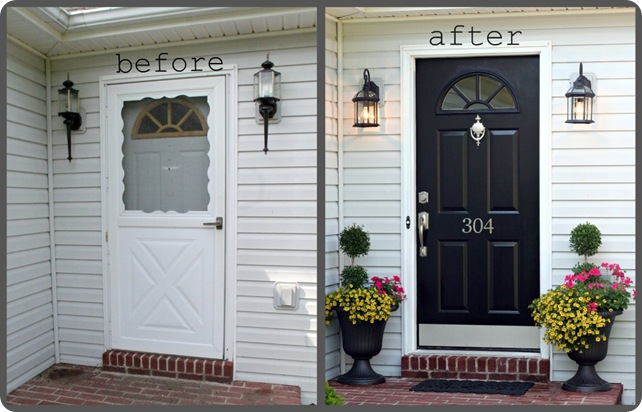 Iseman Homes Fall Project Front Door Makeover
