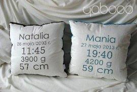 poduszki-metryczki