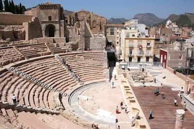 Murcia Cartagena teatro romano