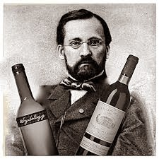 louis pasteur with good wine