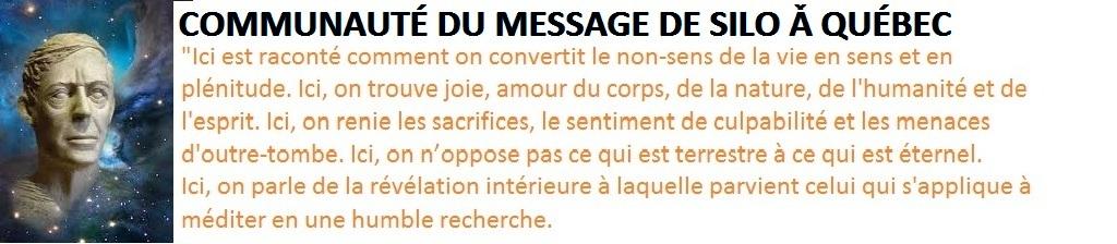 Le Message de Silo à Québec