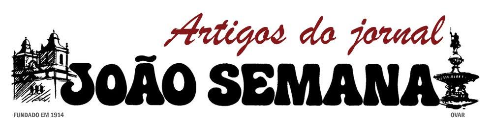 Artigos do jornal JOÃO SEMANA