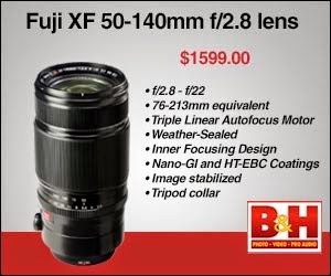 Fuji XF 50-140mm lens available