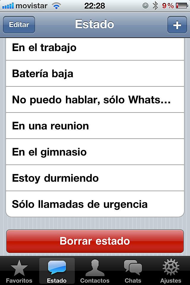 Frases para estados de animo para Whatsapp | Solo mensajes