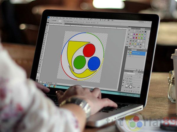 membuat logo favicon blog dengan photoshop