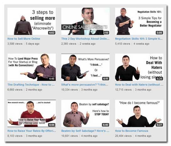 Une chaîne YouTube dans une stratégie de contenu