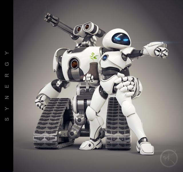 Фанарт. ВАЛЛ-И 2: восстание машин