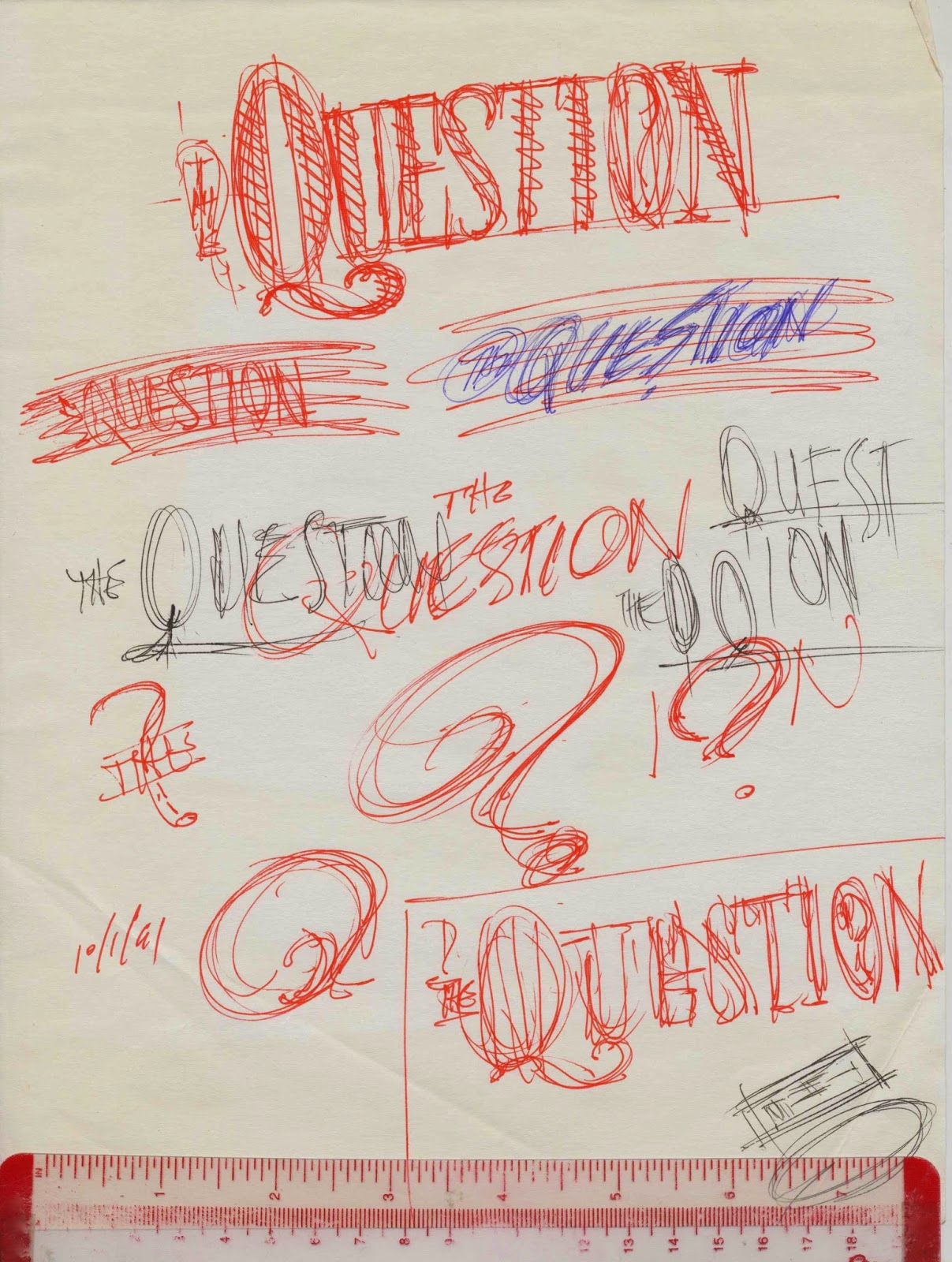 Tenth Letter of the Alphabet: Anatomy of a Logo: The Question