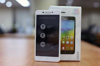 Harga Lenovo A5000, Smartphone Quad-core Harga 1 Jutaan
