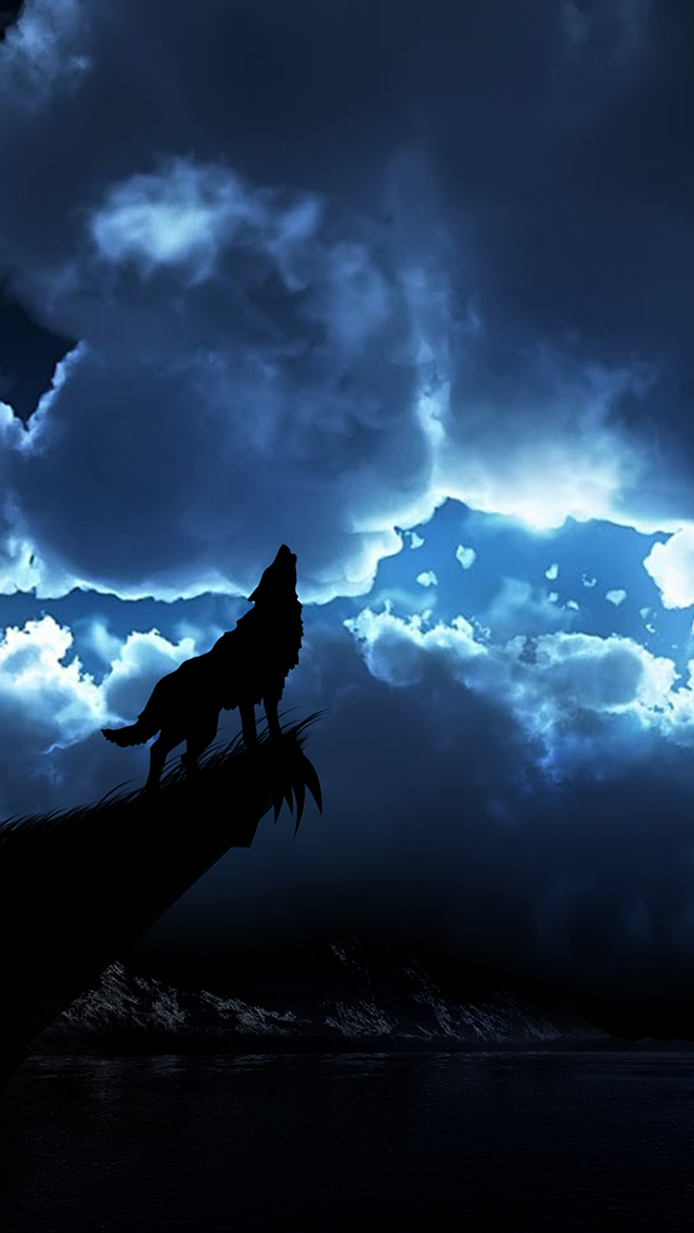 the gallery for gt wolves howling iphone wallpaper