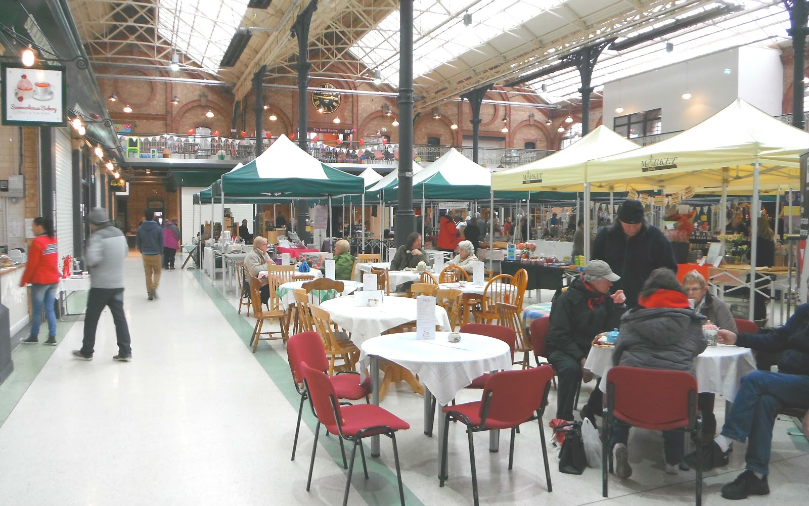 Market cafe in Burton