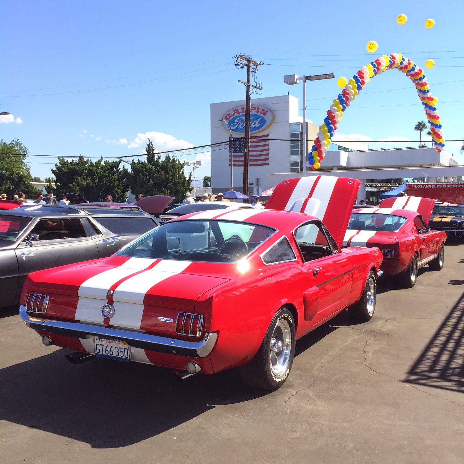 Covering Classic Cars 3rd Annual Galpin Ford Custom Car Show