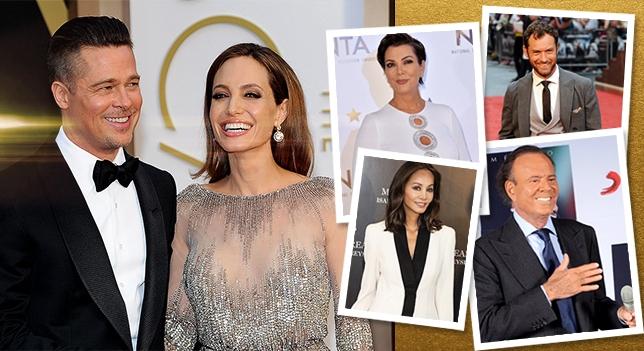 Kris Jenner, Angelina Jolie et Julio Iglesias sont quelques-unes des célébrités qui ont plus d'enfants