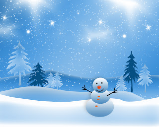 winter, snowman, snow, tress. cold