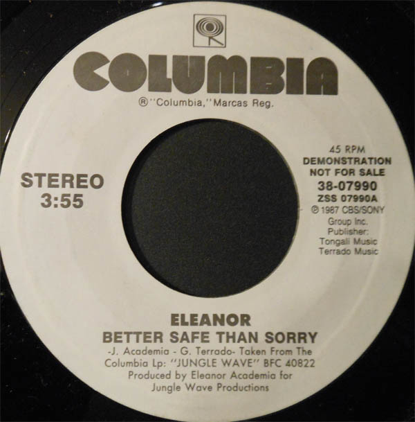 Rare and obscure music eleanor for 1988 music charts