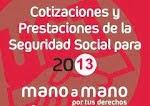 Cotizaciones y Prestaciones 2013