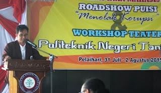 road show puisi menolak korupsi ke 31 di kalimantan selatan
