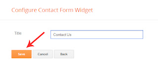 contact form add