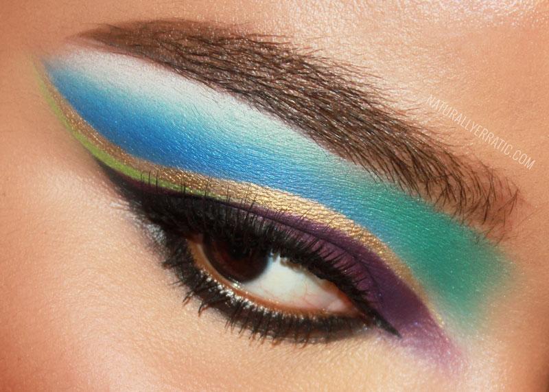 Makeup blog, eotd, sugarpill makeup