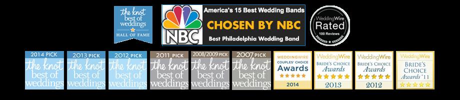 NBC America's 15 Best Wedding Bands Janis Nowlan Best Philadelphia Wedding Band