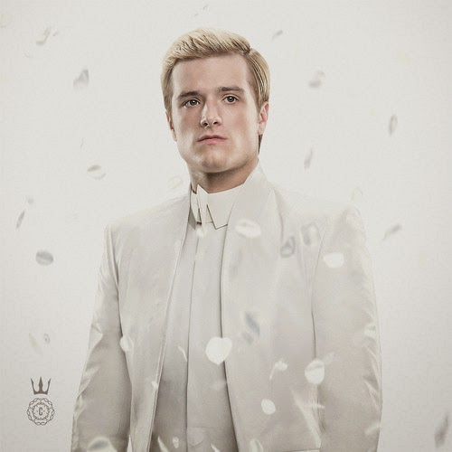 Peeta Johanna Capitol Couture Issue 4 The Hunger Games Mockingjay