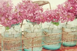 DIY vasos de decoração