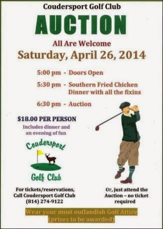 4-26 Coudersport Golf Club Auction