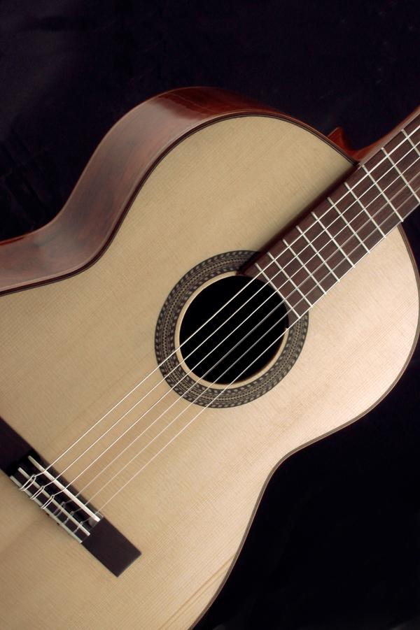 El violero prueba de guitarra julio malarino experimental for Guitarras de luthier