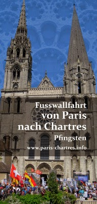 FUSSWALLFAHRT von PARIS nach CHARTRES  18.-21. Mai 2018