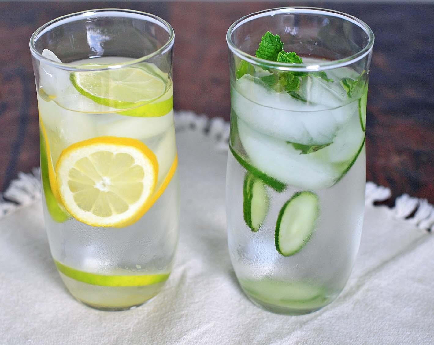 afvallen citroenwater