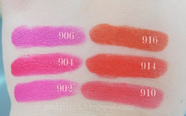 Maybelline  Color Sensational Vivids Swatch