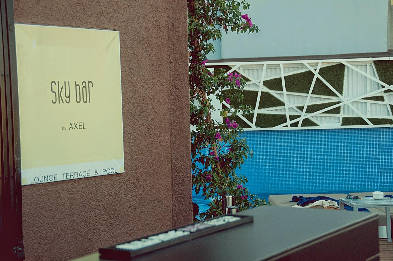 Terraza Hotel Axel