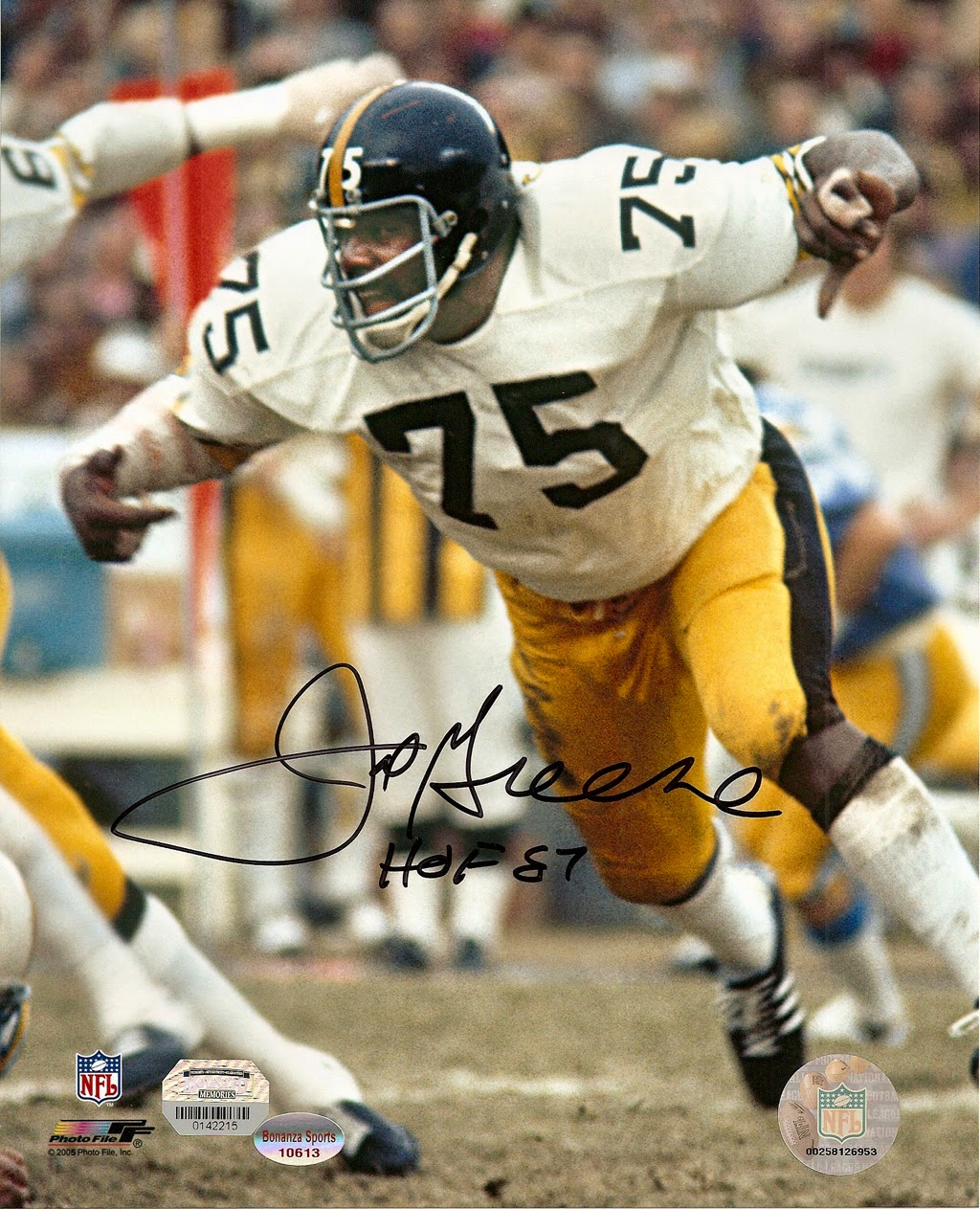 Mean Joe Greene #78 Pittsburg Steelers
