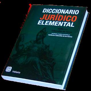 Diccionario Jurídico Elemental - Guillermo Cabanellas
