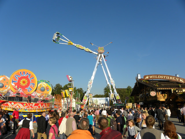 Oktoberfest Carnival Fair Munich