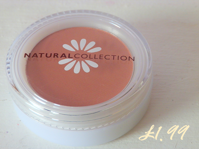 Natural Collection Blushed Cheeks Peach Melba